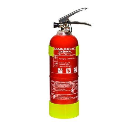 DOMOWY BEZ GAZU: Czujnik czadu CO-9B, dymu SB5, Gaśnica GP-2X, Płytka