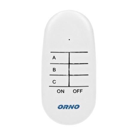 Zestaw bezprzewodowych mini gniazd sterowanych pilotem 2+1 ORNO OR-GB-439
