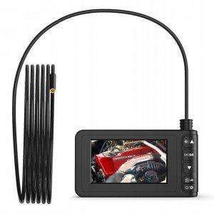 KAMERA INSPEKCYJNA ENDOSKOP INSKAM 1080P FULL HD Z EKRANEM