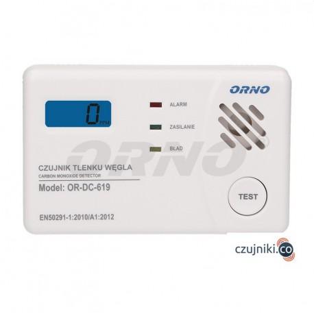 Zestaw Czujników Dymu i Tlenku Węgla ORNO OR-DC-620
