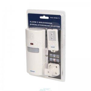 Alarm radiowy z wbudowaną syreną ORNO OR-MA-711