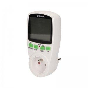 Dwutaryfowy watomierz, kalkulator energii ORNO OR-WAT-408
