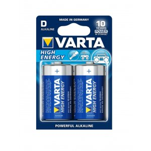 Baterie 2 szt. VARTA HIGH ENERGY D