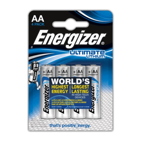 Baterie 2 szt. ENERGIZER ULTIMATE LITHIUM AA