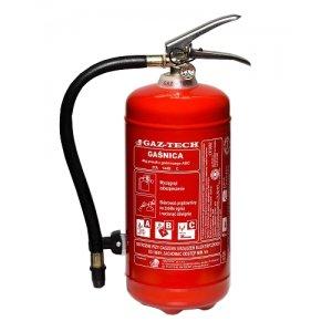 Gaśnica GAZ-TECH GP-4 X z proszkiem ABC