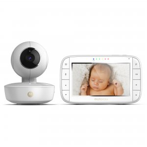 Niania elektroniczna z obrotową kamerą i 5-calowym monitorem Motorola MBP50